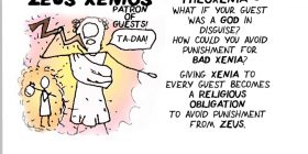 What is XENIA? Greek Myth Comix explaining Homeric literature
